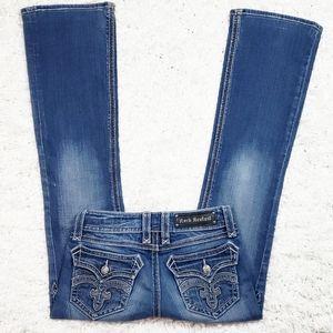 Rock Revival Debbie Boot Cut Jean's.  Size 27.